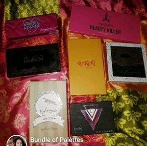 Bundle or eyeshadow palettes
